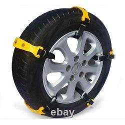 20 Pack Car Sedan SUV Snow Mud Tire Chains Beef Tendon Wheel Antiskid TPU Chain