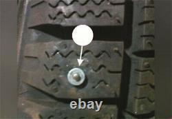 Air Gun Installation Tool + 1000Pcs Snow Wheel Car Tire Stud Screw Spike Chain