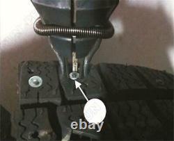 Car Winter Wheel Tire Nail Screws Snow Spikes Installation Air Gun with1000 Studs