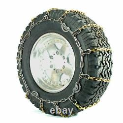 Titan Alloy Square Link Truck CAM Tire Chains On Road Ice/Snow 5.5mm 225/70-19.5