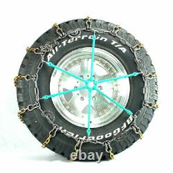 Titan Alloy Square Link Truck CAM Tire Chains On Road Ice/Snow 7mm 11-24.5
