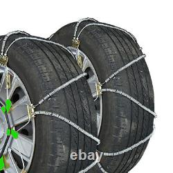Titan Diagonal Cable Tire Chains On Road SnowithIce 9.82mm 225/65-17
