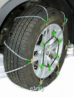 Titan Diagonal Cable Tire Chains Snow or Ice Covered Roads 10.98mm 245/45-22