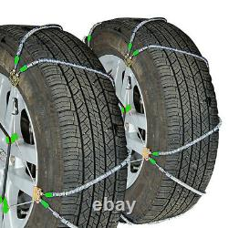 Titan Diagonal Cable Tire Chains Snow or Ice Covered Roads 10.98mm 245/75-16