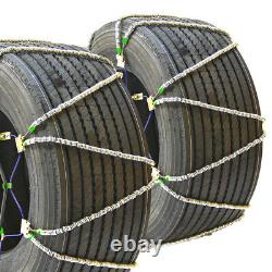 Titan Diagonal Cable Tire Chains SnowithIce Covered Roads 17.64mm 295/75-22.5