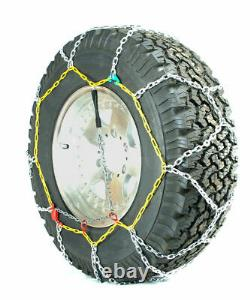Titan Diamond Alloy Square Tire Chains On Road SnowithIce 3.7mm 245/75-17