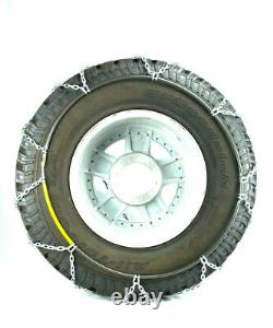 Titan Diamond Alloy Square Tire Chains On Road SnowithIce 3.7mm 315/75-16