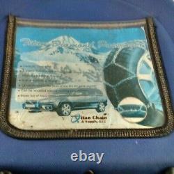 Titan Diamond Passenger Snow Chains 1540 Pair Set Car LT SUV Wheels Tire S Class