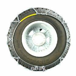 Titan Diamond Pattern Alloy Square Tire Chains On Road Snow 4.7mm 35x12.50-15