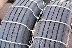 Titan Dual/Triple Cable Chains Snow or Ice Covered Roads 10.5mm 245/75-22.5