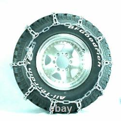 Titan HD Mud Service Light Truck Link Tire Chains OffRoad Mud 8mm 235/75-15
