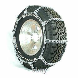 Titan HD Mud Service Light Truck Link Tire Chains OffRoad Mud 8mm 265/70-18