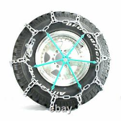 Titan HD Mud Service Light Truck Link Tire Chains OffRoad Mud 8mm 265/75-16