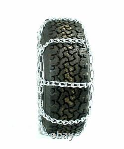 Titan HD Mud Service Light Truck Link Tire Chains OffRoad Mud 8mm 275/70-18