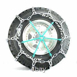 Titan HD Mud Service Light Truck Link Tire Chains OffRoad Mud 8mm 285/70-18