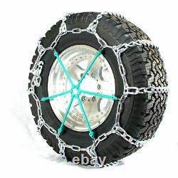 Titan HD Mud Service Light Truck Link Tire Chains OffRoad Mud 8mm 295/70-18