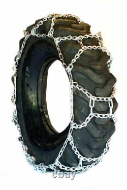 Titan H-Pattern Tractor Link Tire Chains Snow Ice Mud 10mm 12-16.5