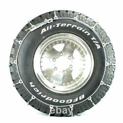 Titan Light Truck Cable Tire Chains Snow or Ice Covered Roads 10.3mm 235/80-17