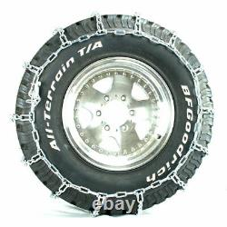 Titan Light Truck V-Bar Tire Chains Ice or Snow Covered Roads 5.5mm 255/65-17