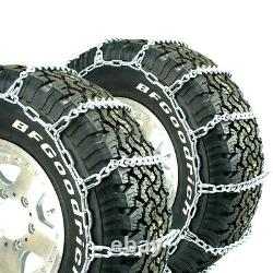 Titan Light Truck V-Bar Tire Chains Ice or Snow Covered Roads 5.5mm 265/70-17