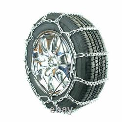 Titan Passenger V-Bar Link Tire Chains Ice/Snow Covered Roads 5mm 195/65-15