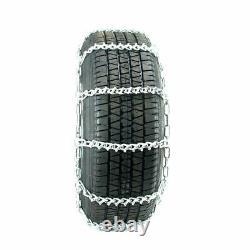 Titan Passenger V-Bar Link Tire Chains Ice/Snow Covered Roads 5mm 215/60-16