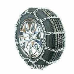 Titan Passenger V-Bar Link Tire Chains Ice/Snow Covered Roads 5mm 215/65-15