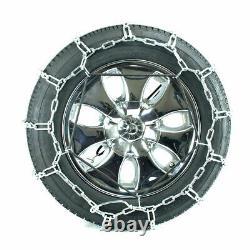 Titan Passenger V-Bar Link Tire Chains Ice/Snow Covered Roads 5mm 215/75-15