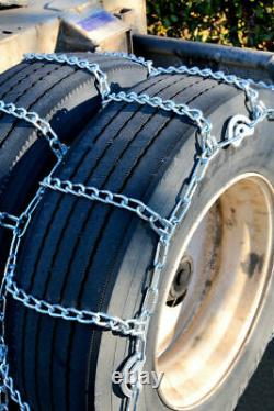 Titan Tire Chains Dual/Triple CAM On Road SnowithIce 5.5mm 8-19.5