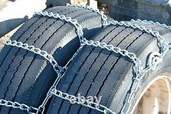 Titan Tire Chains Dual/Triple CAM On Road SnowithIce 7mm 10.00-20
