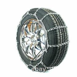 Titan Tire Chains S-Class Snow or Ice Covered Road 4.5mm 255/35-20
