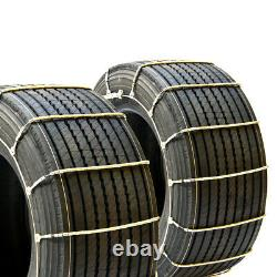 Titan Truck Cable Tire Chains Snow or Ice Covered Roads 10.3mm 275/70-18