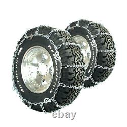Titan Truck Link Tire Chains CAM Type On Road SnowithIce 5.5mm 225/70-19.5