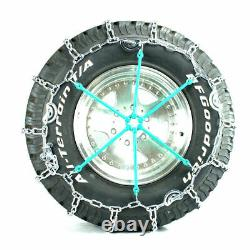 Titan Truck Link Tire Chains CAM Type On Road SnowithIce 5.5mm 245/75-17