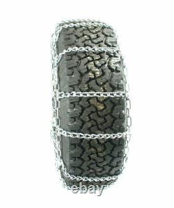 Titan Truck Link Tire Chains CAM Type On Road SnowithIce 5.5mm 265/60-18