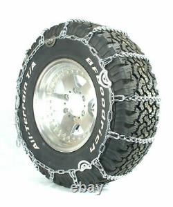 Titan Truck Link Tire Chains CAM Type On Road SnowithIce 5.5mm 265/70-17