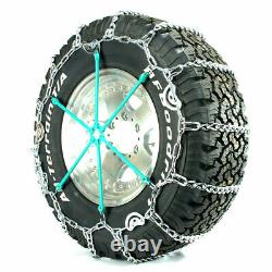 Titan Truck Link Tire Chains CAM Type On Road SnowithIce 5.5mm 265/75-16