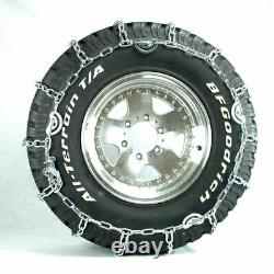 Titan Truck Link Tire Chains CAM Type On Road SnowithIce 7mm 295/75-22.5
