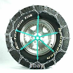 Titan Truck Link Tire Chains On Road SnowithIce 5.5mm 265/75-17