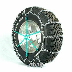Titan Truck Link Tire Chains On Road SnowithIce 7mm 255/70-22.5