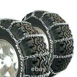Titan Truck Link Tire Chains Wide On Road SnowithIce 8mm 18-19.5