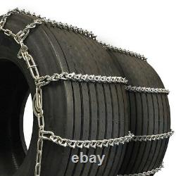 Titan Truck Tire Chains V-Bar CAM Type On Road Ice/Snow 7mm 295/70-18