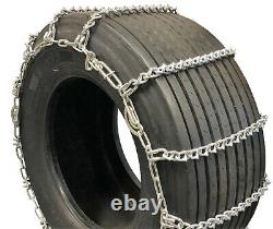 Titan Truck Tire Chains V-Bar CAM Type On Road Ice/Snow 7mm 33x12.50-16.5