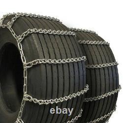 Titan Truck Tire Chains V-Bar On Road Ice/Snow 7mm 33x12.50-15