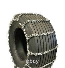 Titan Truck Tire Chains V-Bar On Road Ice/Snow 7mm 36x14-16.5
