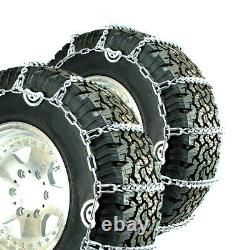 Titan V-Bar Tire Chains CAM Type Ice or Snow Covered Roads 5.5mm 265/65-18