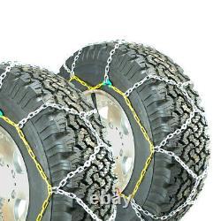 Chaînes De Pneus Carrées En Alliage De Diamant Titan Sur Route Snowithice 3,7mm 305/70-16