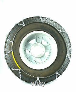 Chaînes De Pneus Carrées En Alliage De Diamant Titan Sur Route Snowithice 3,7mm 33x12.50-17