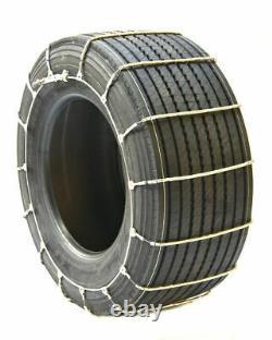 Chaînes De Pneus De Câble De Camion Titan Routes Couvertes De Neige Ou De Glace 10.3mm 285/60-20