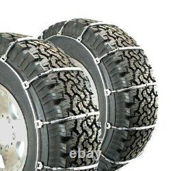 Chaînes De Pneus De Câbles Titan Camion Léger Routes Couvertes De Neige Ou De Glace 10.3mm 235/85-16